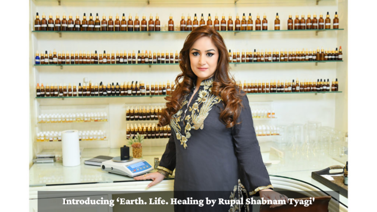 Introducing 'Earth. Life. Healing by Rupal Shabnam Tyagi'